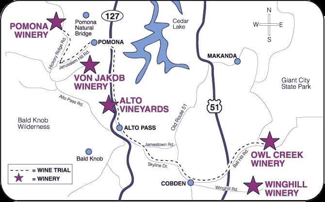 Rend Lake Illinois Map.Illinois Bike Paths And Maps
